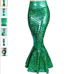 Mermaid costume, small